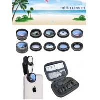 Quality 2019 new design 10 in 1 cell phone camera lens for all smart phones for sale