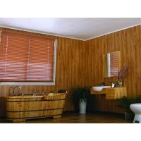 China Wooden Laminated Decorative Ceiling Panels , Recyclable Pvc Wall Covering 250*8mm on sale
