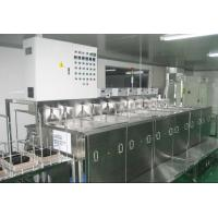Buy cheap Optical Glass Ultrasonic Cleaning Machine Eleven Slot Fully Automatic PLC Controlled product