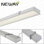 Buy cheap aluminum led linear recessed led down light Danmark DK Belgium BE Braizil BR  recessed led linear lighting product