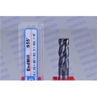 Tungsten Carbide Corner Radius End Mill with 4 Flute 25 mm Flute Length