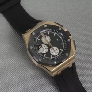 Buy cheap mètres mécaniques de résistance à l'eau de montre d'or de 18K Rose 50 ; Encadrement en céramique 8screws d'octogone product