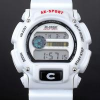 Buy cheap Silver Date / Alarm Waterproof Swimming Watches Water Resistant 30m product
