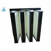 Buy cheap High Performance H13 V Bank Filter , Portable Air Filter For Hospital Operating Room product