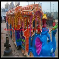 Buy cheap Big attraction!! kiddie amusement park train rides elephant train for sale product