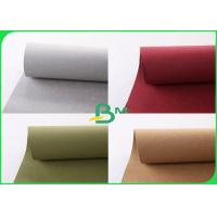 Buy cheap 0.55mm Thickness Washable Kraft Paper 30 Colors Kraft Paper Rolls For Backpack product