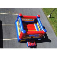 Buy cheap Inflatable Bouncy Boxing Ring Arena/ Inflatable Boxing Glove Challenge For Fight product