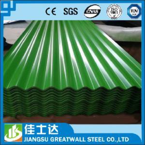 China SGCC,DX51D,JIS,ASTM/Zinc 33% Corrugated metal Sheet / Zinc Aluminum Metal Roofing Panels on sale