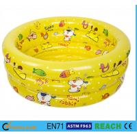 Buy cheap Splendid Printed Inflatable Swimming Pool 0.2mm Thickness Material Swim Tube product