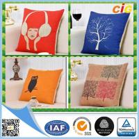 China Replacement Custom Decorative Cushion Covers / Sofa Seating Cushion Covers with Cotton on sale