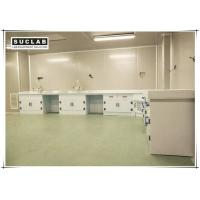 Buy cheap Acid And Alkali Resistant Chemical Lab Furniture PP Countertop With Base Cabinet product