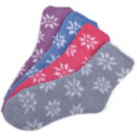 Buy cheap Flower  pattern airplus aloe infused socks shea butter fragrance Feature product