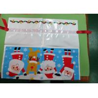 China Personalized Drawstring Plastic Gift Bags Packaging Printing Logo wholesale