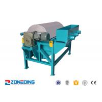 Buy cheap Iron Ore Dressing Equipment / Wet Drum Magnetic Separator For Coal , Cement product