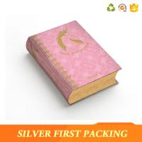 Buy cheap Silver First custom hard cover full color book printing paper packaging box product
