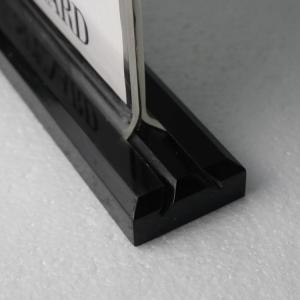 Buy cheap Wholesale custom logo 8.5*11 Acrylic sign holder with black base product