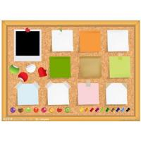 China cork boards on sale