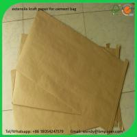 Buy cheap BMPAPER Super Quality Uncoated Kraft Paper Roll By Waste Paper for cement bags product