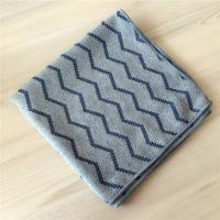 Quality 40x40cm Microfiber Weave Style Jacquard Pearl Cloth Auto Detailing Towel for sale