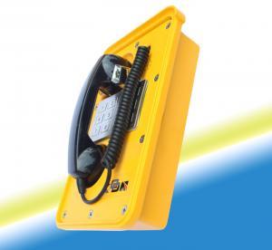 Téléphone résistant du temps IP66 avec la protection d'allégement de combiné