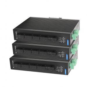 Buy cheap Aucune fan cinq ne mettent en communication la catégorie industrielle optique de protection du commutateur IP40 d'Ethernet de fibre du commutateur 100M from wholesalers
