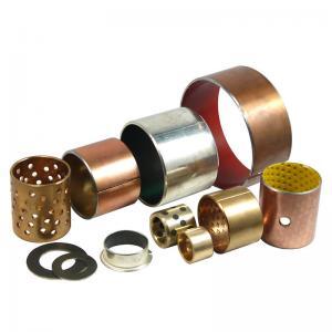 Buy cheap Maintenance Free Anti Fatigue Slit Oilless Bronze Bushing product