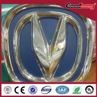China waterproof outdoor/indoor vacuum forming metal plastic arcylic LED car logo on sale