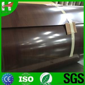 Buy cheap La bobine en acier stratifiée par film en bois à la mode de grain caoted la tôle d'acier pour les appareils de finition product