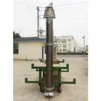 China 12m lighting mast-heavy duty lockable pneumatic telescopic lighting masts, emergency light wholesale