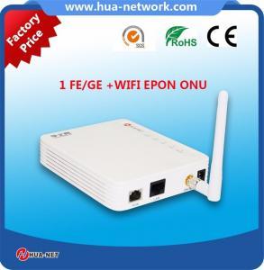 FTTH ONU/Fiber ONU 1GE+WIFI EPON/GEPON ONU con el chipset de ZTE/Cortina/MTK