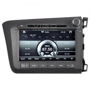 Buy cheap Sliding 3D menu Multimedia Stereo, Honda Sat Nav Autoradio Navigation for Civic 2012 (right drive version) VHC8864 product