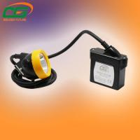 15000 Lux Underground Cap Lamps , Explosion Proof Led Miner Headlamp