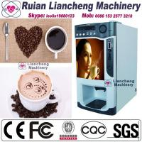 China semi automatic coffee machine Bimetallic raw material 3 in 1 microcomputer Automatic Drip coin operated instant on sale