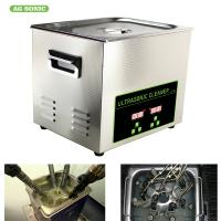 Buy cheap 30L 500w Digital Ultrasonic Cleaner, Ultrasonic Fuel Injector Cleaning Machine product