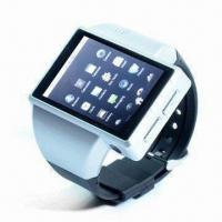 Buy cheap Smart Wristwatch Phone with Google's Android System, Supports Wi-Fi Function product