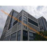 Buy cheap Office Building Multi-storey Steel Building With Glass Curtain Wall Cladding System product