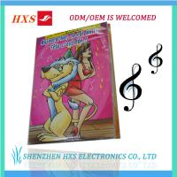 Buy cheap Audio Musical Artificial Greeting Card product