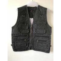 Buy cheap Mens classic vest in 100% polyester washed fabric, S-3XL, 4 colors can be chose product