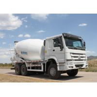 Buy cheap HOWO cement mixer truck Heavy Duty Dump Truck 10 wheels Euro 2 400L Fuel tank product