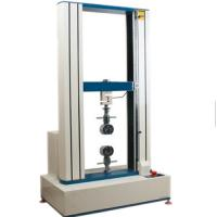 Buy cheap 0.5~1000mm / Min Tensile Tester For ABS Plastic Tensile Strength , Test Range 400mm MAX product
