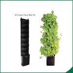 Buy cheap Ecoの要求として友好的な8番の小型の縦の庭のキットの壁の庭成長する袋25x13cmのフェルトの物質的な黒いまたは product