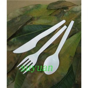 China Cubiertos biodegradables/vajilla/cubiertos de CPLA wholesale