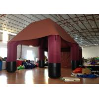 Buy cheap Big Party Inflatable Event Tent Sewing Sealed Pvc Tarpaulin Waterproof Customized product