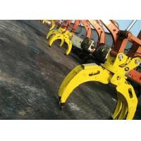 China Wood Grapple / Stone Grapple Backhoe Grapple Attachments For Structure Demolition on sale