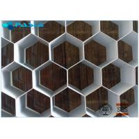 Buy cheap 12mm Height Aluminum Honeycomb Core Board For Audio Industry Flat Panel from wholesalers