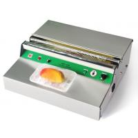 Buy cheap Stainless Steel Electric PVC Cling Film Wrapping Machine / Food Tray Sealing Machine product
