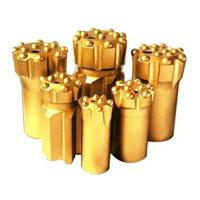 Buy cheap Button bits T38-76 golden color drilling for marble and granite stone product