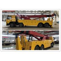 Buy cheap Diesel Fuel Road Wrecker Truck Max Speed 90 Km / H 2 Pieces Winch D13 Engine from wholesalers