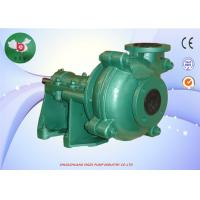 China Horizontal Mud Ash Heavy Duty Slurry Pump With Iron Ore Volcanic on sale