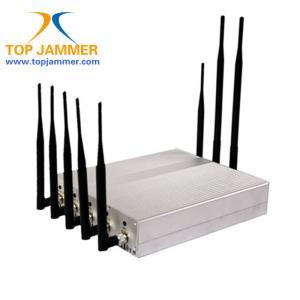 Buy cheap 8 móbil de rádio da G/M 3G 4G LTE Wifi GPS Lojack do construtor do jammer do sinal do RF da sala de reunião das faixas product
